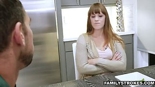 fucking the stepdaugher next to my annoying sleeping wife