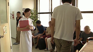 Japanese Nurse gives excellent Sex Service