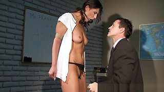 Restrained Slave Babes Punished By Maledoms