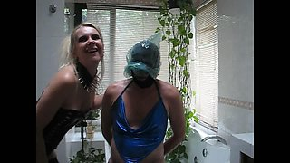 sadobitch - sissyhubby bathroom session p2