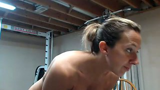 My girlfriend loves working out and her head game is strong