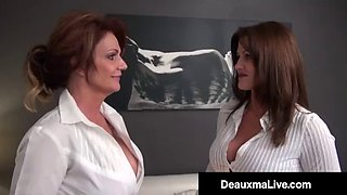 Smoking cougars deauxma &amp taylor ann fuck patient for money!