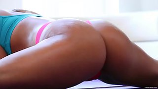 flexible abella danger gets anal fucked after exercises