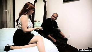 Redhead wife fucked in front of her cheating husband