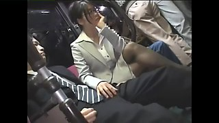 excellent reverse chikan on bus pt1 - watch part 2 on hdmilfcam.com