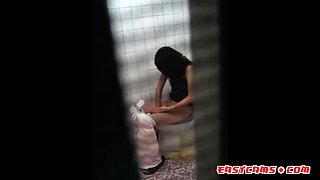asian voyeur in toilet