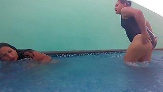 Pool Wrestling