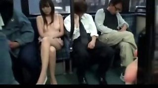 horny milf fucked on bus in front of husband