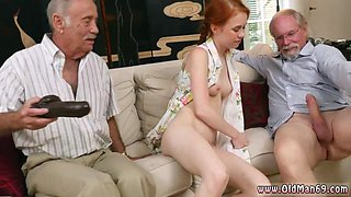 Girl dominates old man and woman shared Online Hookup