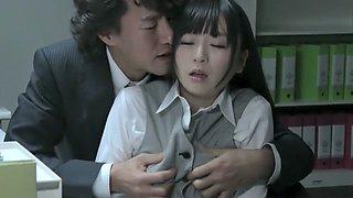 Incredible Japanese chick in Hottest MILF, Office JAV scene