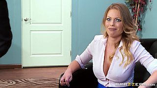 Britney Amber wants to feel her boss' engorged dick in her pussy