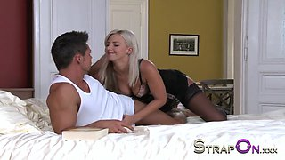 Crazy pornstar in Best Romantic, DP sex clip