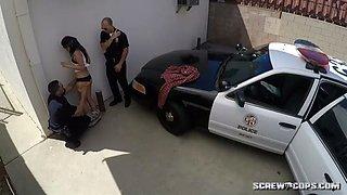 two cops force latina gang member