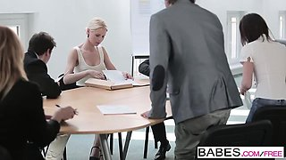 Babes - Office Obsession - Rico Simmons and L
