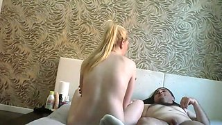 TURKISH MAN LAZ ALI AND SEXY BLONDES GIRL