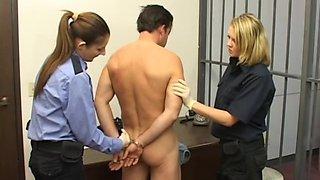 Prisoner Jerked Off By Female Guards