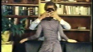 Awesome buxom vintage secretary gives such a fantastic blowjob