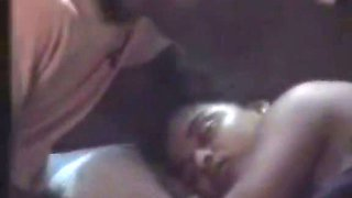 Sex starving desi feels up Indian girl while she sleeps tight