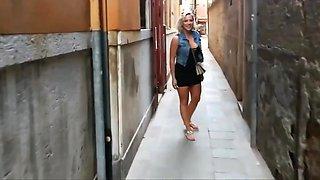 Amazing homemade Outdoor, Public sex movie