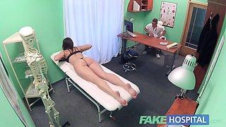 Fake Hospital Czech babe has multiple orgasms while fucking