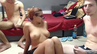 Incredible Homemade video with Swingers, Threesome scenes