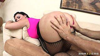 Sophie Dee Has Her Ass Spanked By Jordan Ash