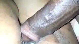 Fucking her creamy pussy on sleep