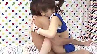 Hottest Japanese girl Ran Monbu in Fabulous POV, Couple JAV movie