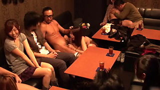 A First Experience Of A Naive Young Couple In A Partner swapping Sex Club In Japan
