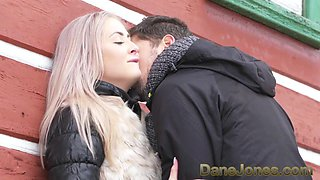 Dane Jones Deepthroat blowjob public doggystyle and facial