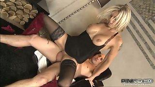 Big tits luxury girl Klarisa Leone makes him lose it