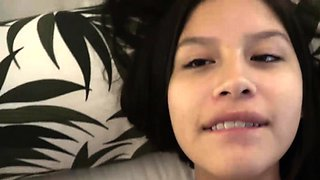 Zaya Cassidy Pregnant and Horny Gets a Creampie