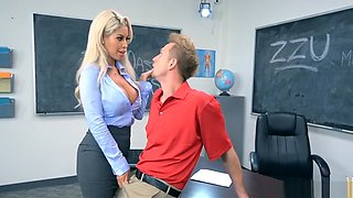 Teacher Gets Horny At School