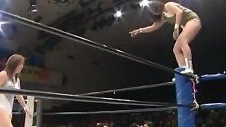 japanese wrestling stinkface at 1:56