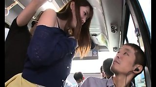 Wife cheats on bus