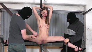 Tied sex toy