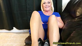 Ms paris rose in &#34seducing a future lesbian with my feet&#34