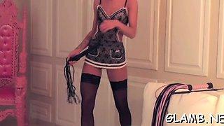 mistress punishes her slave extreme