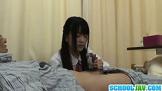 Nice teen slut in school uniform hardcore action with dick