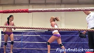 gorgeous euro wrestling smalltits dyke