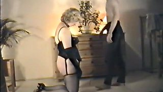 Crazy amateur Blonde, Fetish sex scene