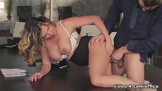 Best pornstar Danica Dillon in Horny Secretary, Big Ass adult scene