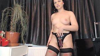 Mistress Aasstight Show How She Fuck A Sexy Faggy