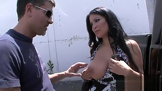 Luscious Babe Cheating On Her Boyfriend