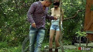 Horny Man Plays With His Slave