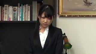 Best Japanese model Rin Kashiwagi in Crazy Facial, Gangbang JAV movie
