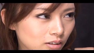 Keito Miyazawa Japanese milf entertains her boss by suc
