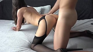 Cheating Secretary Creampied By Her Boss After Work 4K