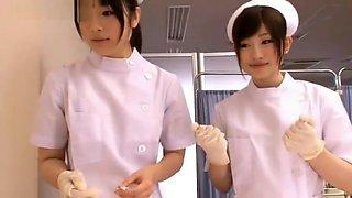 Beautiful nurse Hina