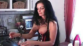 Juggs Carmen in great dirty bondage part4